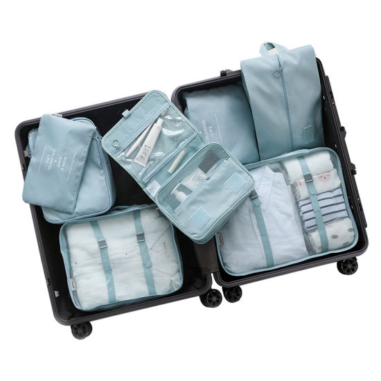 7f8145552485 China 8 Set Packing Cubes Travel Luggage Packing Organizers with ...