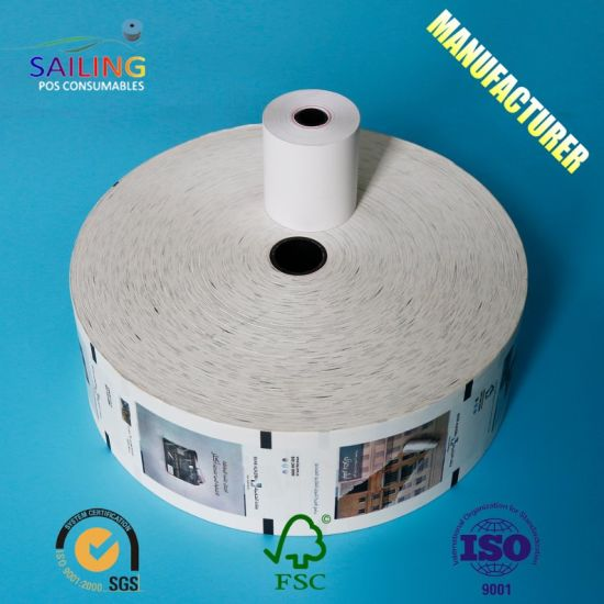 Wholesale 80X80 Thermal Paper Rolls for Cash Register/ATM/POS