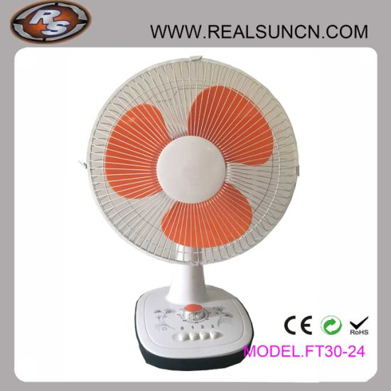 12inch Electric 3 Sd Table Fan With Timer