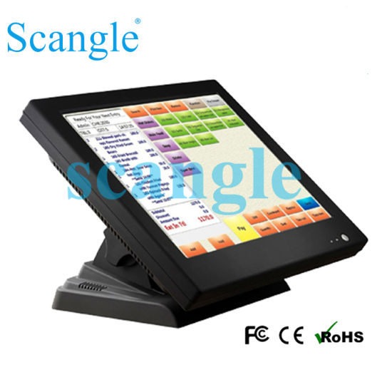15 Inch POS System with Touch Screen / All in One POS System