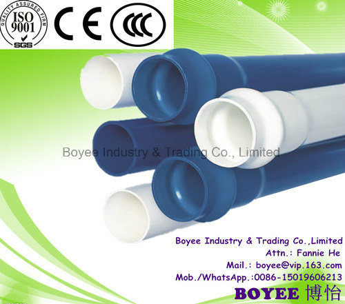 Hot Sell Non-Toxic 50 Years Service Life PVC Pipe for Water Supply PVC Collapsible Plastic Pipe