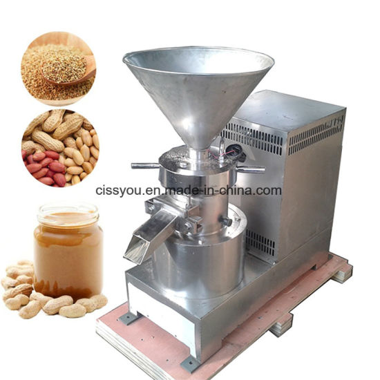 Food Processing Peanut Almond Fruit Butter Making Colloid Mill Machine pictures & photos