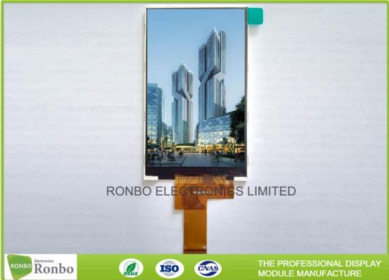 Customizable Thin Thickness 24bit RGB Interface Fwvga 5 0 Inch 480*854 IPS  LCD Display Module
