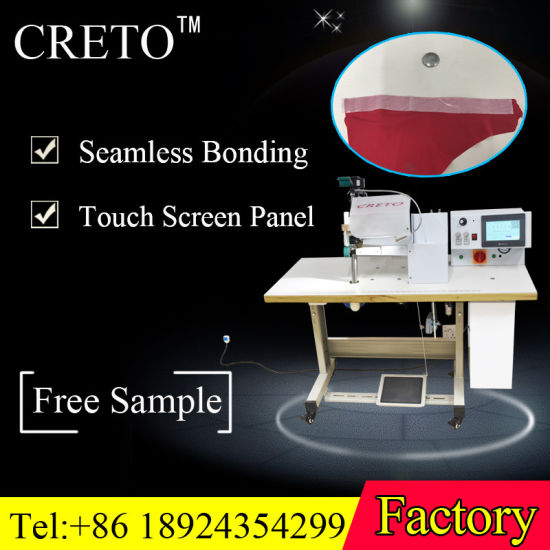 2018 Seamless Bonding Machine with High Efficiency and Adjustable Speed