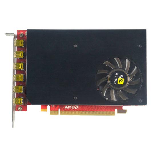 2018 Factory Price HD7750 DDR5 4GB 128 Bit Graphics Card
