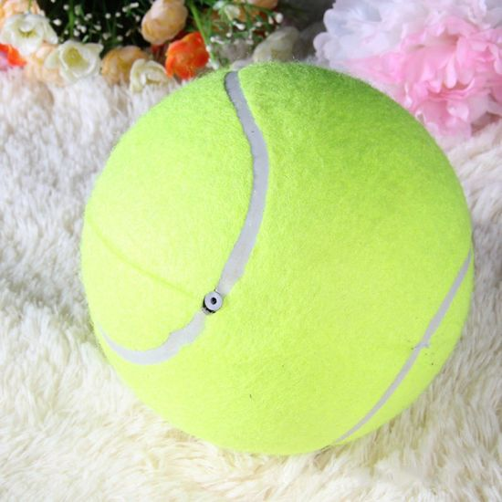 24cm Outdoor Custom Big Inflatable Pet Chew Toy Tennis Dog Ball Pet Supply pictures & photos