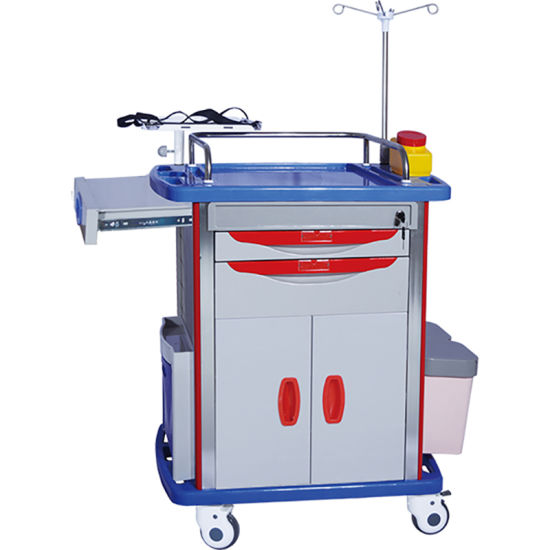 FDA Factory Durable Emergency Care Trolley pictures & photos