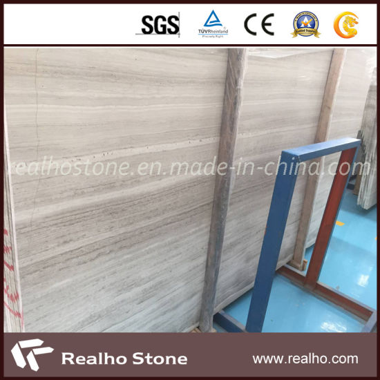 Chinese White Wood/Silver Serpeggiante Marble/Sandalwood