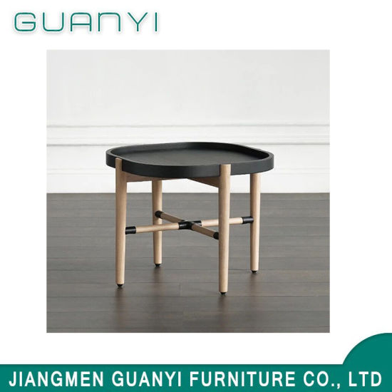 Side Table Opruiming.China Hot Sale Black Top Modern Coffee Table China Round Table