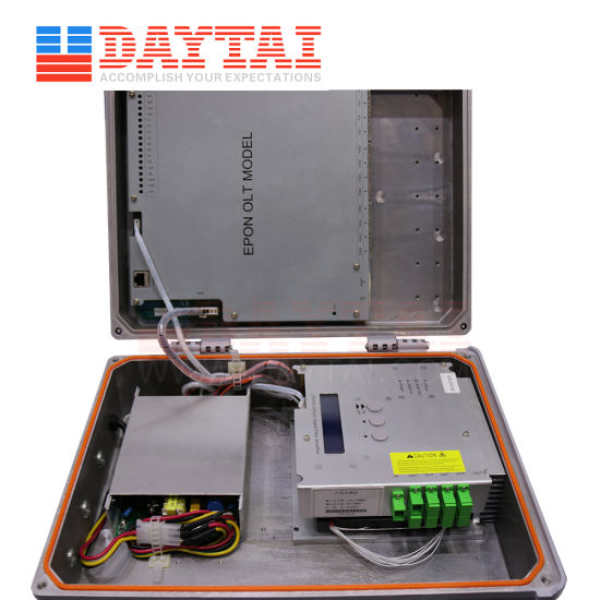 Best Selling Factory 8pon Ports Outdoor Gpon Olt with EDFA