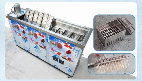 Heavy Duty 10 Molds Ice Popsicle Lolly Lollipop Machine