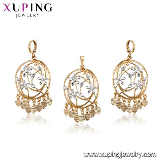 148a5370454b3 China 18K White Gold Fashion Flowers Jewelry Set - China Jewelry Set ...