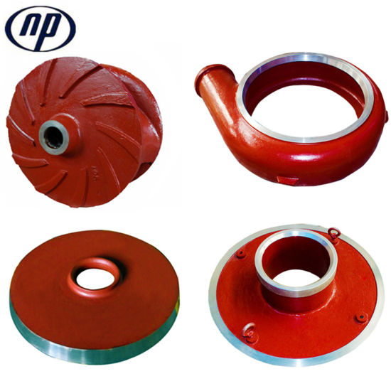Slurry Pump Parts Casting & Heat Treatment Process