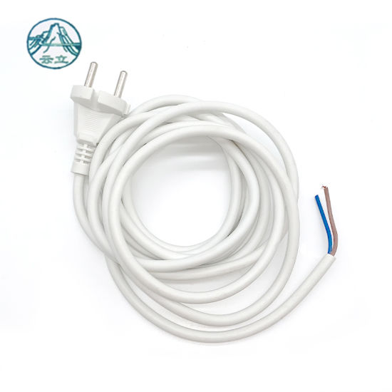 Free Sample VDE Approved PVC Jacket 2X0.75mm2 Power Cord
