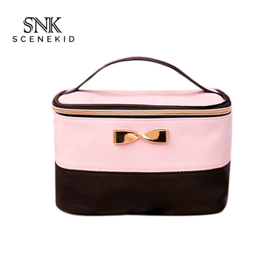 Best Selling Promotional Custom Beauty Woman Bag Cosmetic, Design Waterproof PU Travel Cosmetic Bag for Lady