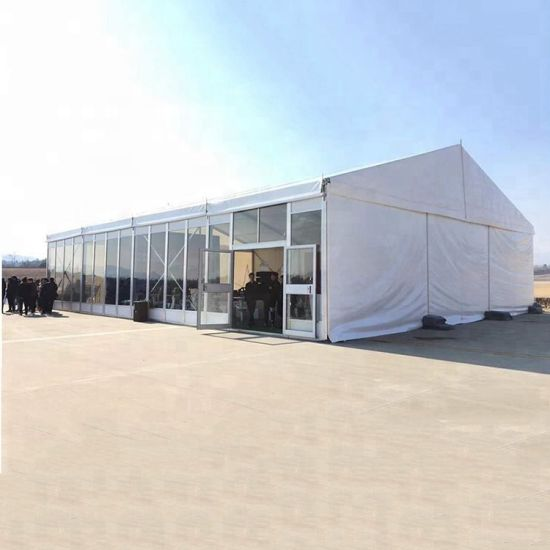 Aluminum Metal Frame Partytent with Sunshade