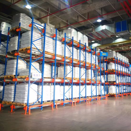 China Automated Pallet Shuttle Car for Cold Storage