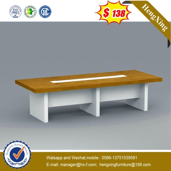 Modern Mixed Color Laminated Wooden School Office Conference Table pictures & photos