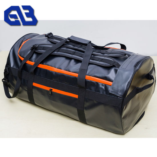 Wholesale Waterproof Bag Material 500d PVC Tarpaulin Coated Fabric pictures & photos