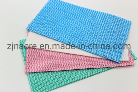Disposable Reusable Household Nonwoven Cleaning Wipe pictures & photos