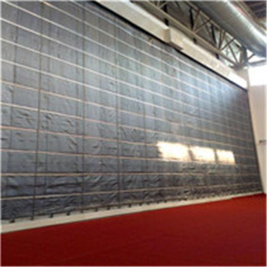 Heat Insulation Silicone Coating Fiberglass Fabric for Smoke Curtain