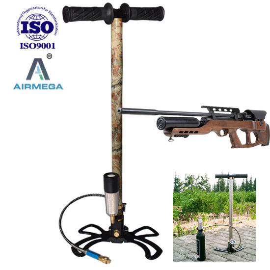 Pcp 300bar Bionic Camouflage Pattern Hand Pump for Air Rifle Fx Airgun Charging Paintball Guns pictures & photos