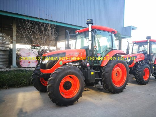 New 130HP Four-Wheel Driving Wheel Tractor with Diesel Engine Kubota Type  (OX1304)