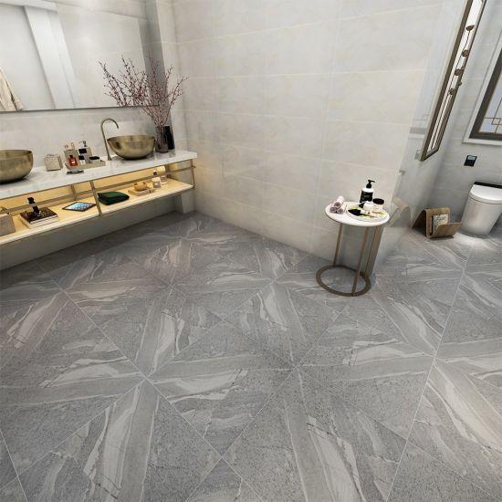Florida Retro Classic 3X6 Dark Gray Bathroom Tile Floor