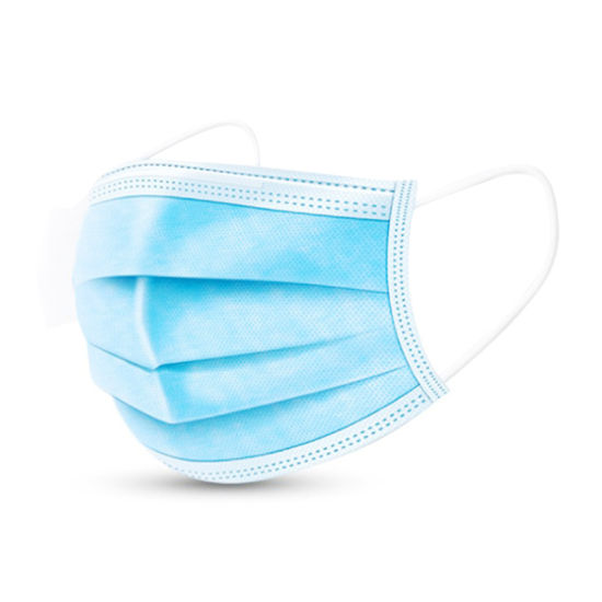 in Stock Medical Surgical Hospital Disposable 3ply Face Mask with Earloop