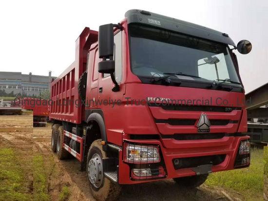 China Best Model HOWO 6X4 336HP 16cbm Tipper Truck