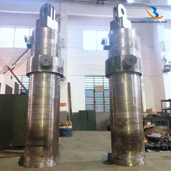 Customized Double Acting Hydraulic Cylinder