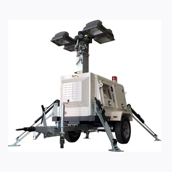 China Vehicle Mounted Portable Outdoor, Portable Outdoor Lighting Tower