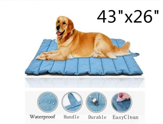 China Pet Outdoor Dog Bed, Waterproof Outdoor Dog Bed Cover