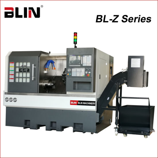Linear Guideway Slant Bed CNC Lathe with GSK Controller