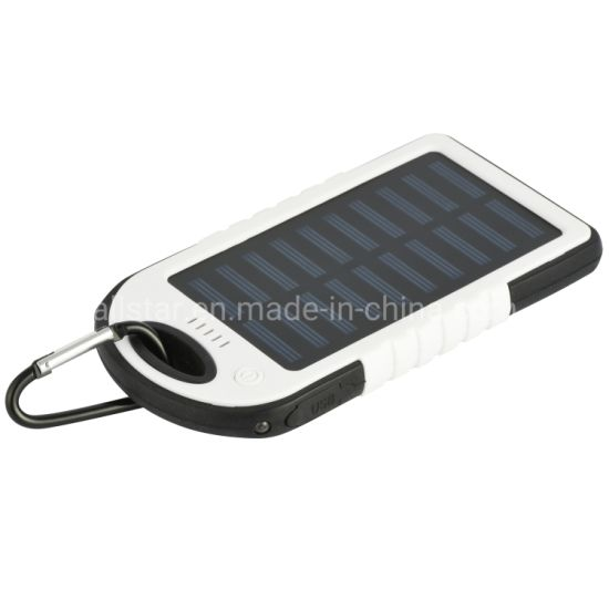 Solar Power Bank Waterproof Portable Battery