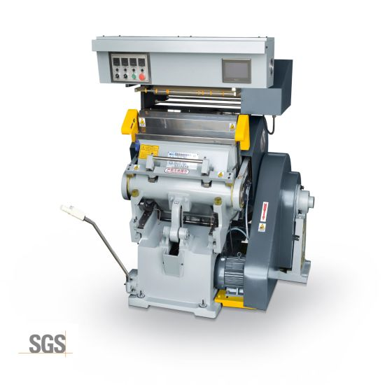 Tymc-750 Hot Selling Ce Die Cutting and Hot Stamping Machine