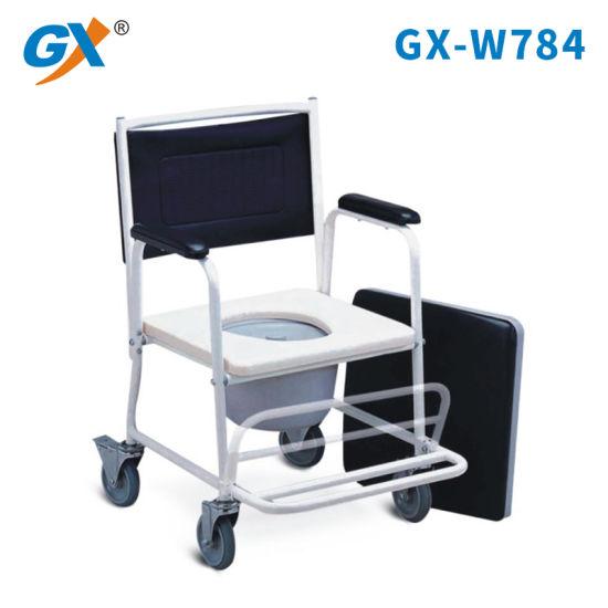 Chinese Manufacturer Aluminum Folding Toilet Chair for Elderly