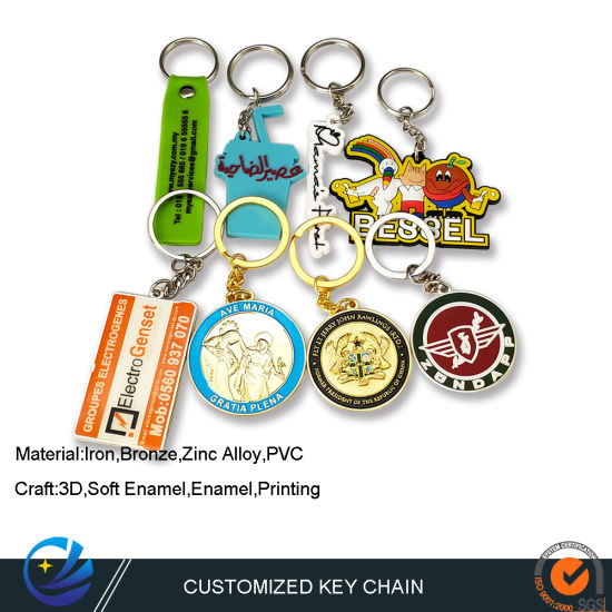 Factory Customized Personalized Metal Name Keychain with Promotional Gift PVC Keyring Hotel Door Lock System Key Fob Free Design