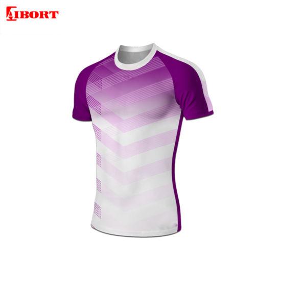 Aibort Sportswear Customization Shirt Rugby Jersey Clothing (N-RJ18)