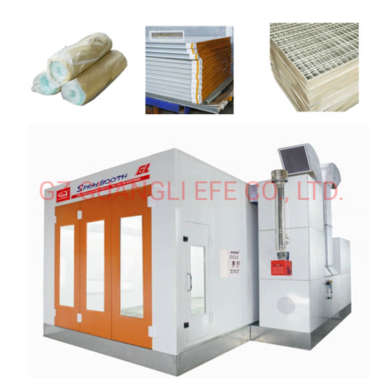 Customize Au Standard Full Downdraft Paint Booth for Car, Truck, Bus or Furniture
