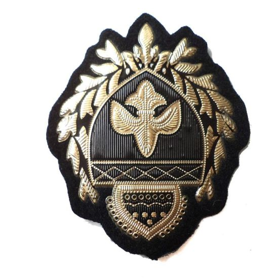 Army Military Gold Embroidered Patch Applique pictures & photos