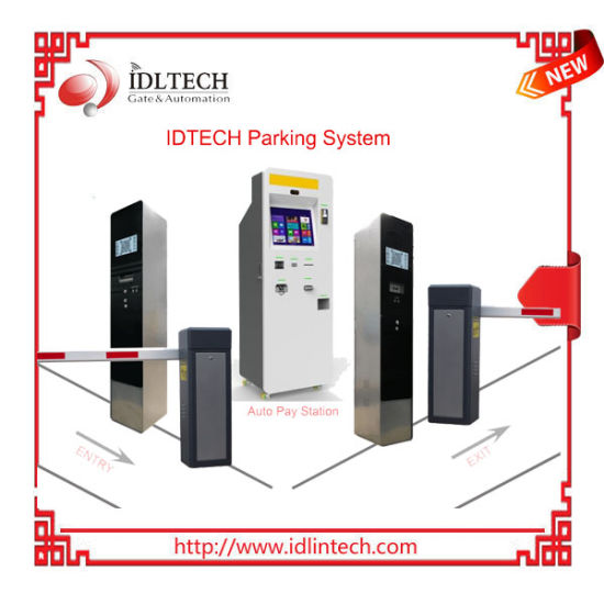 Ticket/Card/Qr Code Autopay Parking System