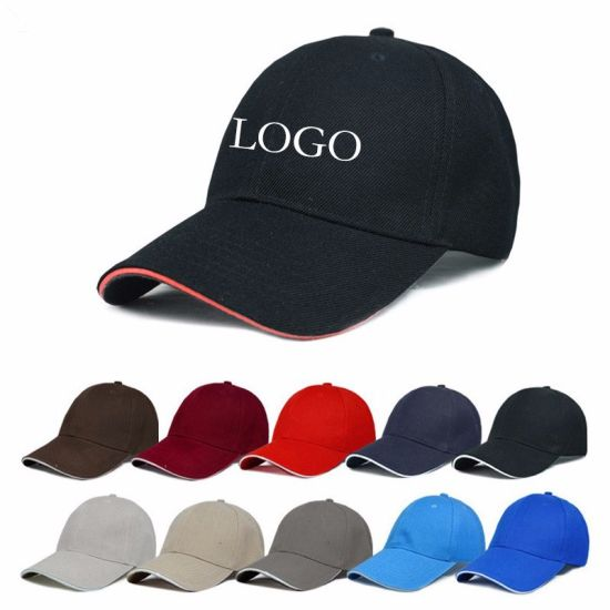 Fast Delivery Personized Sports Baseball Cap with Embroidered Printed Custom Logo