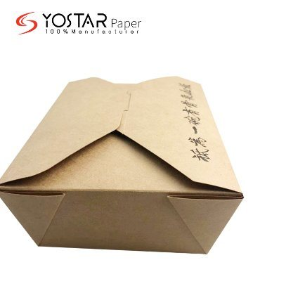 Factory Sale Food Paper Cardboard Carton Takeaway Box for Lunch Delivery