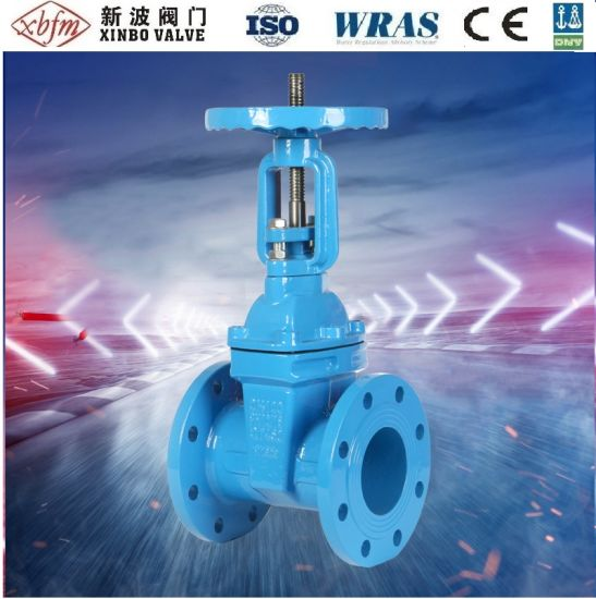 Chinese DIN3352 F4 Pn16 Ductile Iron Non-Rising Resilient Seated Gate Valve Factory