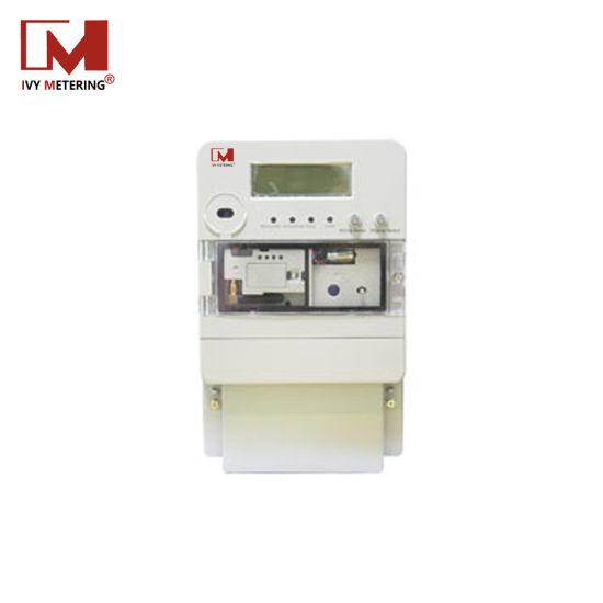 GPRS GSM Prepaid Prepayment Smart Meter LCD Electricity Meter