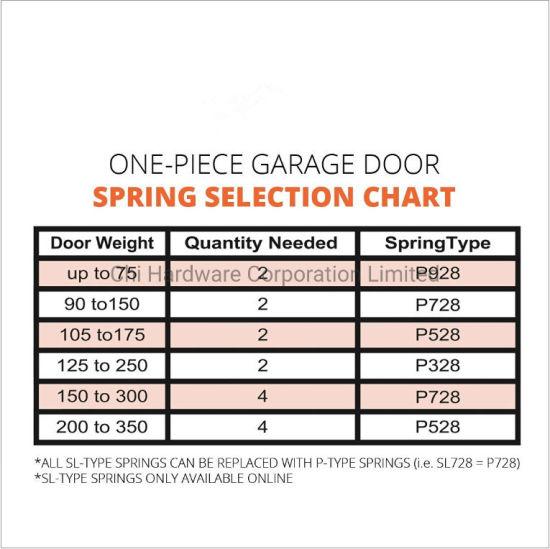 China P732 32 In Plug End One Piece Garage Door Spring China Torsion Spring Garage Door Torsion Spring
