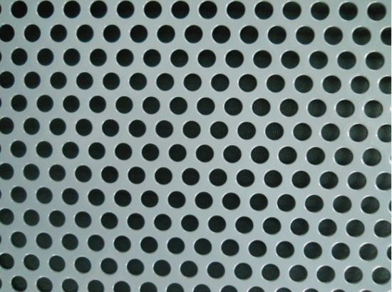 china perforated aluminium sheet round hole china