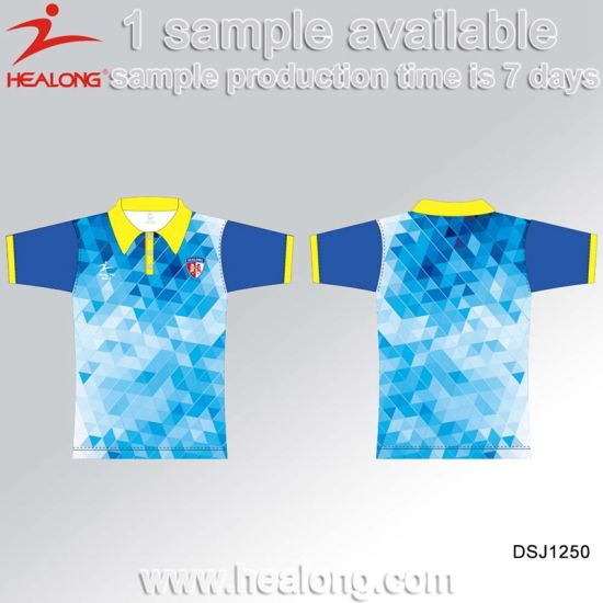 Healong Factory Price Sports Clothing Gear Sublimation Soccer Jerseys for Sale pictures & photos