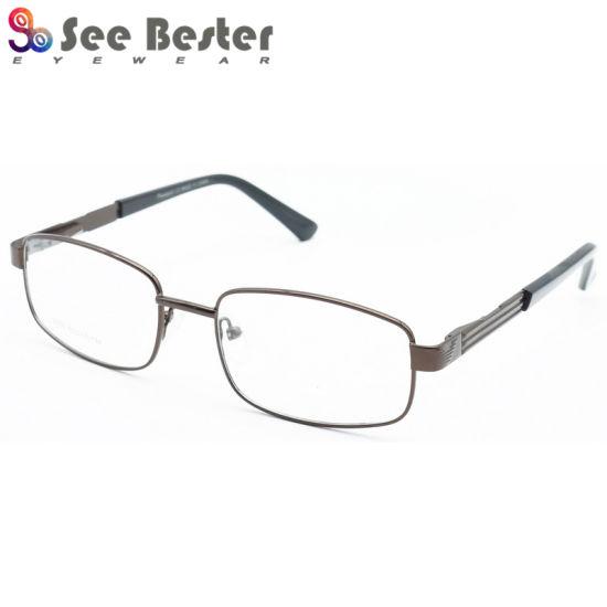 78c4c2007b 2017 Fashion Glasses Man Design Eyewear Stainless Steel Acetate Optical  Frame